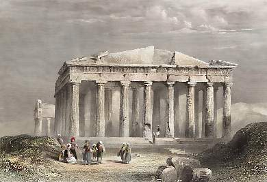 North Front of the Parthenon