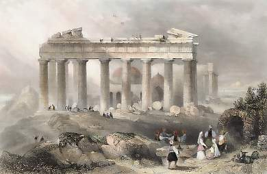 South Front of the Parthenon