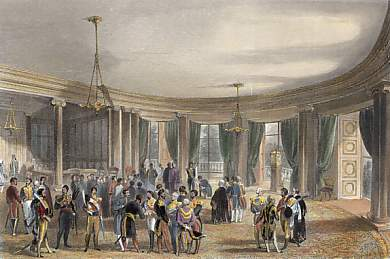 Buckingham Palace, the Library. Foreign Levée