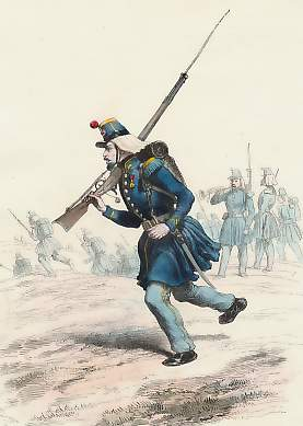 Chasseurs D´Orléans, Carabiniers