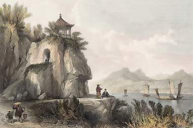 The Grotte of Camoens, Macao