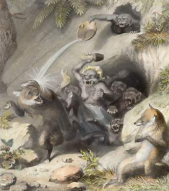Isegrim and the Monkeys
