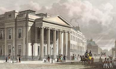 The New College of Physicians, Pall Mall, East