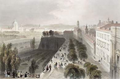 Vienna, from the Bastions