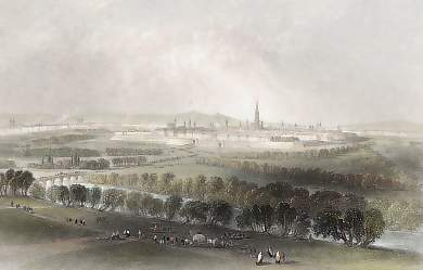 Vienna, Looking Across the Glacis
