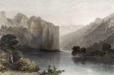 Scene on the River Orontes, Near Suadeah