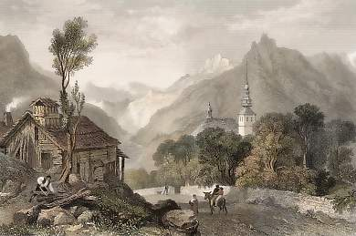The Valley of Maglan from Comblou, Savoy