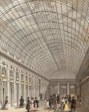 Interior of the Gallery of the Palais Royal