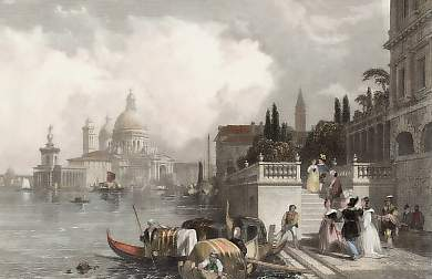 Venice, from the Entrance of the Grand Canal