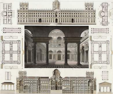 Court of the Palazzo Sauli, Genoa