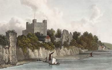 Rochester Castle from the Bridge