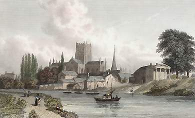 Hereford, from the Rive