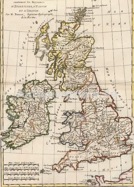 Carte Angleterre Maps.Antique Prints Maps Carte Des Isles Britanniques