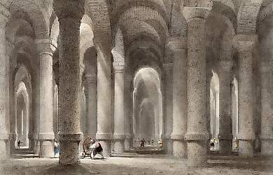 The Cistern of Bin-bir-derek, Called the Thousand and One Pillars