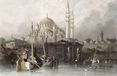 The Mosque of Yeni Jami