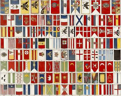 Naval Flags of Nations, Kingdoms, Fleets