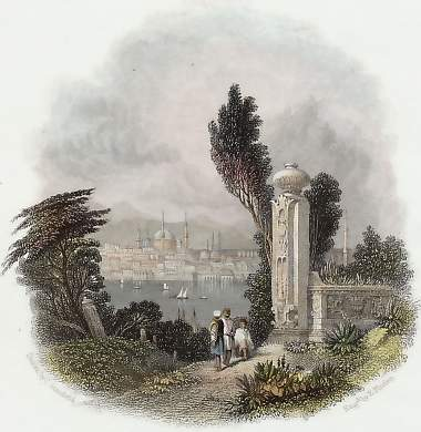 Constantinople, from Cassim Pacha