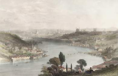 Constantinople from the Heights Above Eyoub