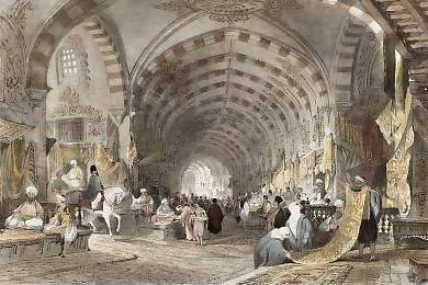 The Great Bazaar, Constantinople