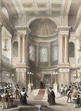 The Great Jewish Synagogue, Celebration of the Feast of Tabernacles