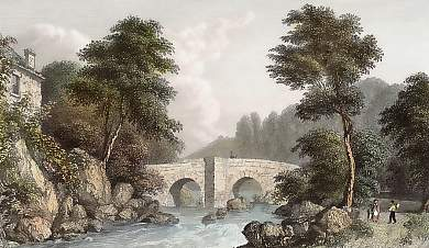 Shaugh Bridge, River Plym, Devonshire