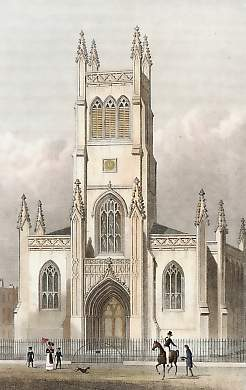 St. Mark the Evangelist, Pentonville