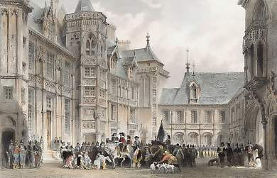 Hôtel De Ville, Bourges, Formerly the House of Jacques Coeur