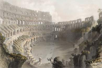 The Coliseum at Roma