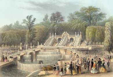 Saint Cloud, Die Cascade