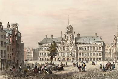 The Town Hall, Antwerp