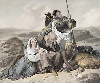 Pilgrims in the Desert