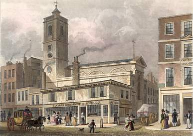 St. Dionis Backchurch, Fenchurch Street