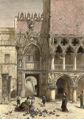 Entrance to the Doge´s Palace