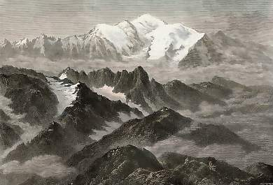 The Range of Mont Blanc