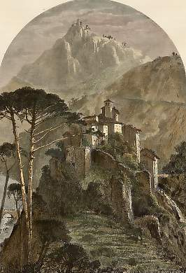 Papigno, and Castle of St. Angelo, Near Thr Falls of Terni