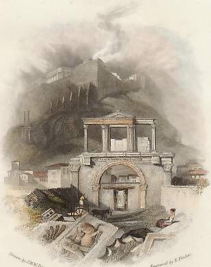 The Gate of Theseus, Athens