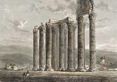 Ruins of the Temple of Jupiter Olympius