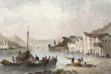 Town and Harbour of Ithaca