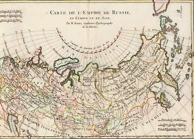 Carte De L´Empire De Russie