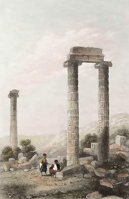 Temple D´Apollon Didyme Aux Branchides