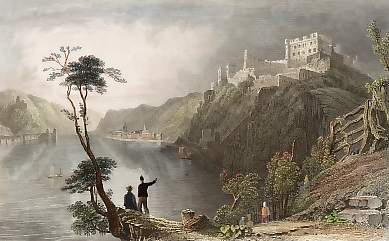 St. Goar and Ruins of Fort Rheinfels