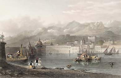 The Port of Messina