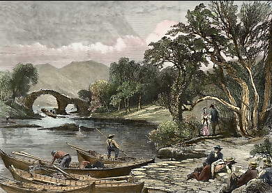 The Old Weir Bridge, Killarney