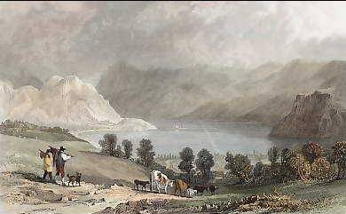Ennerdale Water, from How Hall, Cumberland