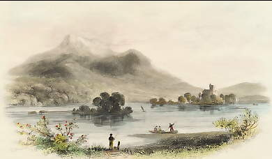 Lower Lake of Killarney & Ross Castle