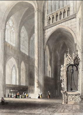 Interior of the Cathedral, Ratisbon
