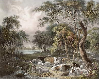 A Scene from Thompson´s Seasons, Summer