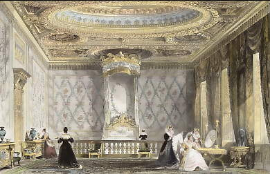 The Queen´s State Bed-Chamber, Fontainebleau