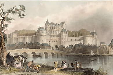 Château of Amboise, on the Loire