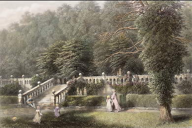 The Terrace, Haddon Hall
